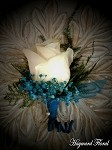 BTN-006 Rose Boutonniere