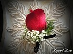 BTN-013 Rose Boutonniere
