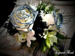 CRG-058 Orchids and Roses Corsage