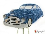 1950 Chevrolet Fleetline Baby Blue