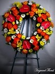 WTH-50-40 Tropical Wreath