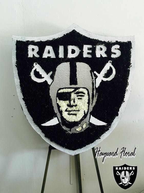 Oakland Raiders Shield Black