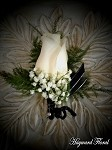 BTN-008 Rose Boutonniere