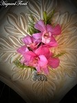 BTN-010 Orchid Boutonniere