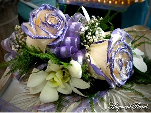 CRG-053 Orchids and Roses Corsage