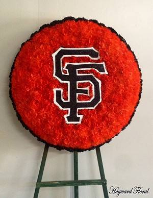 SF Giants Floral Arrangement  2