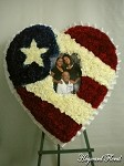 Puerto Rico Photo Heart-02 (Ribbon Edge)