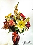 Red Ruby Small Fall Arrangement