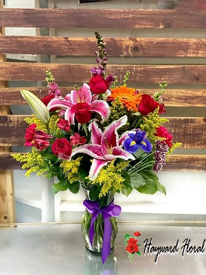 Small Mix Arrangement With Roses # 4